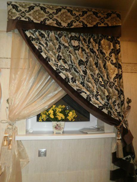Как сшить скрещенные шторы своими руками